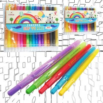 CRAYONS 907-18 COLORS - G-STAR