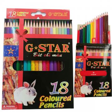 18 COLORED PENCILS - G-STAR